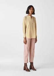 Silk Stripe Shirt