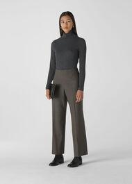 Essential Polo Neck Grey