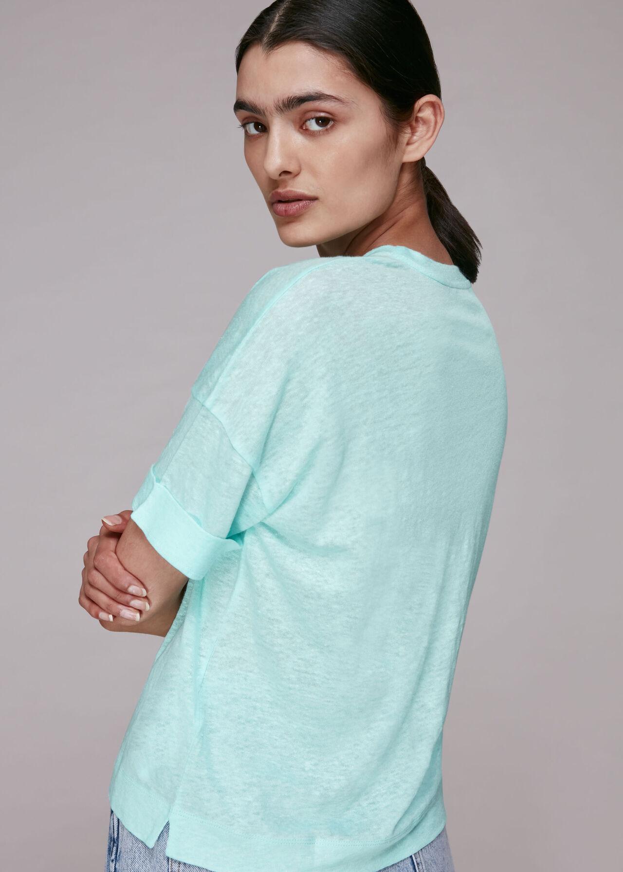 Linen Pocket Top