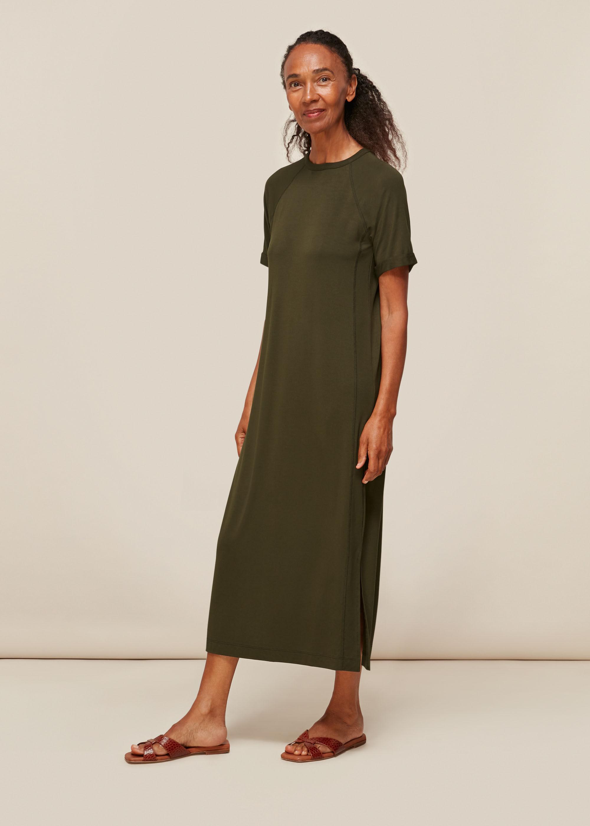 Whistles Women Jersey Longline Dress