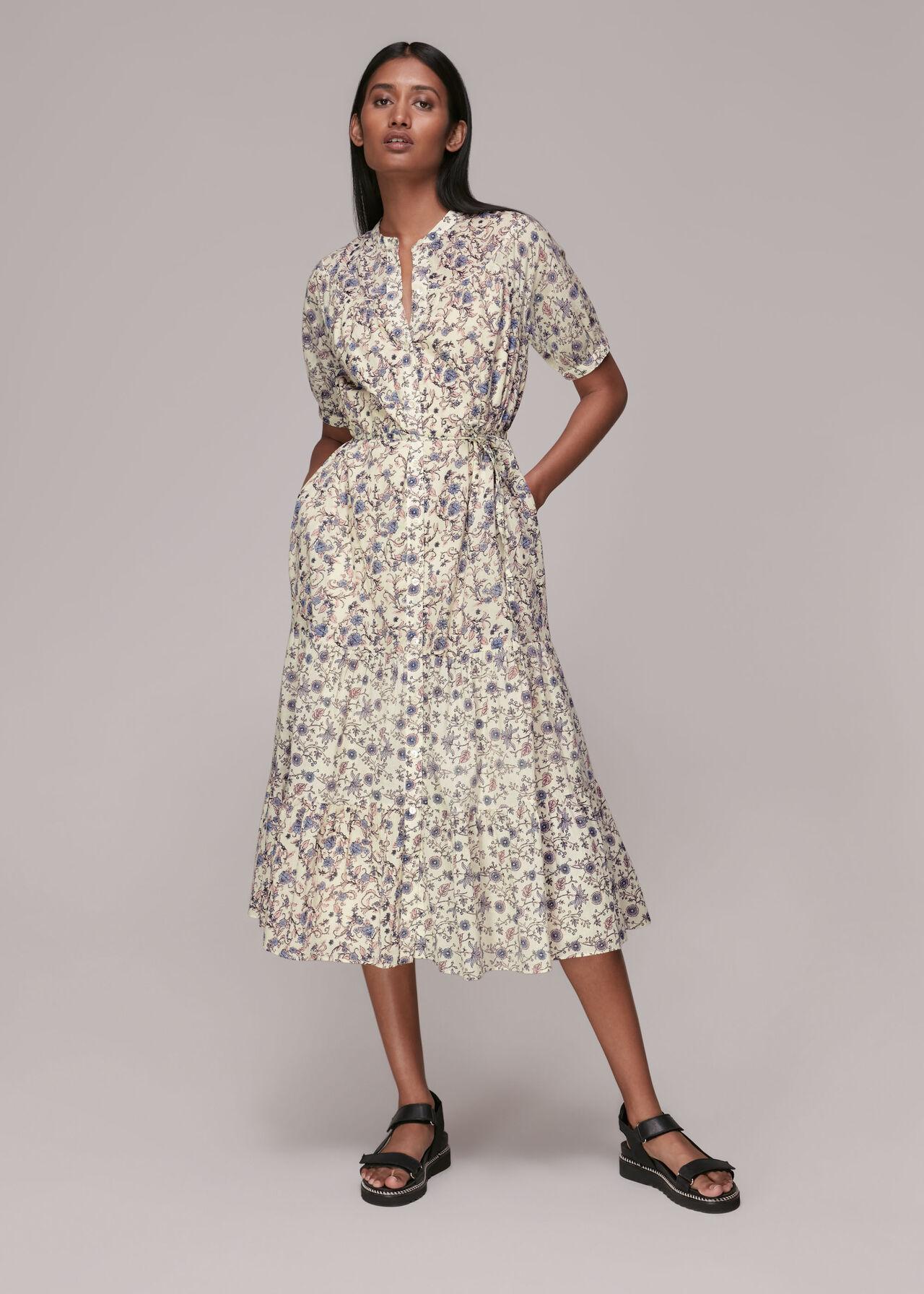 Millie Vintage Floral Dress