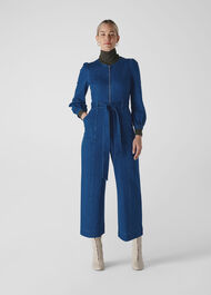 Estelle Denim Jumpsuit Denim