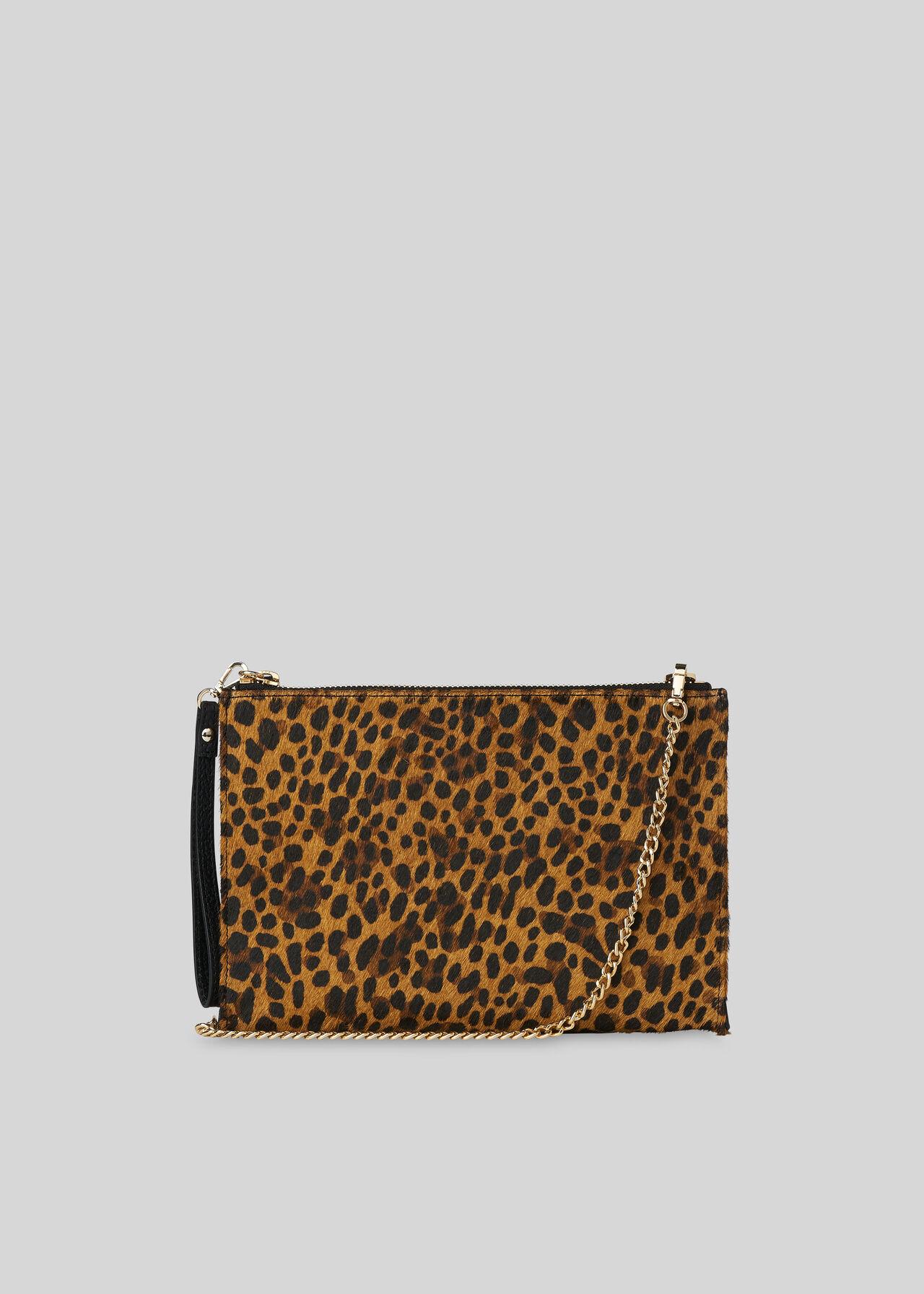 Leopard Print Hampton Chain