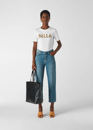 Bella Logo T- Shirt White