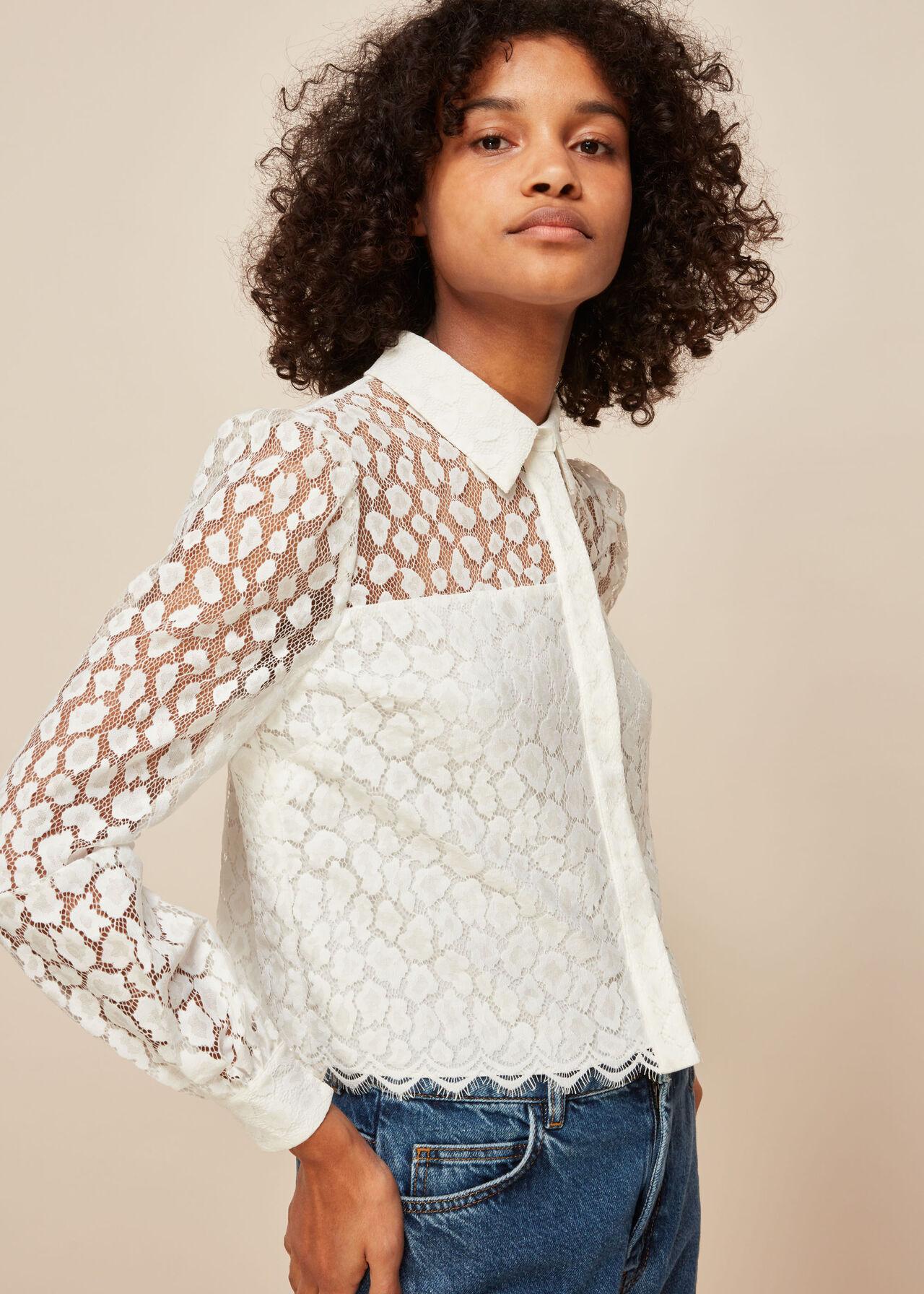 Animal Lace Shirt