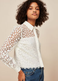 Animal Lace Shirt