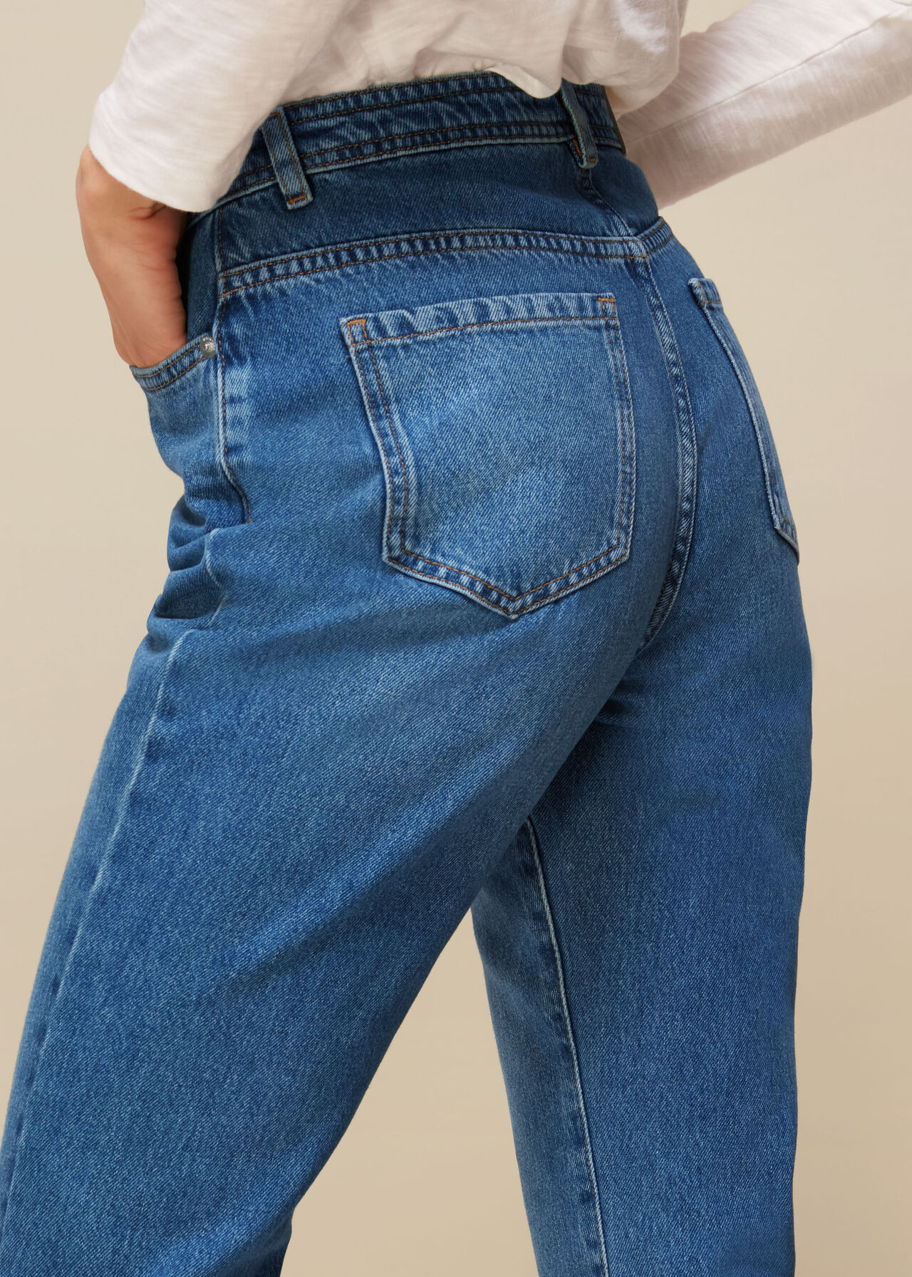Authentic Kick Flare Jean