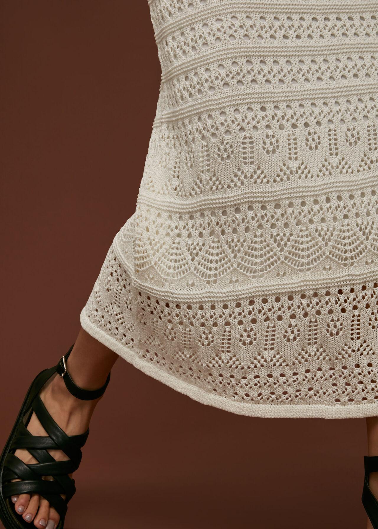 Crochet Midi Skirt