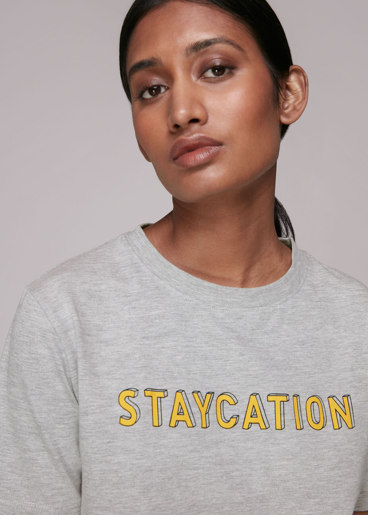 Staycation Logo Tee