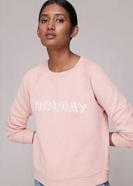 Washed Holiday Sweatshirt