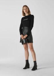 Annie Sparkle Dreamer Knit Black