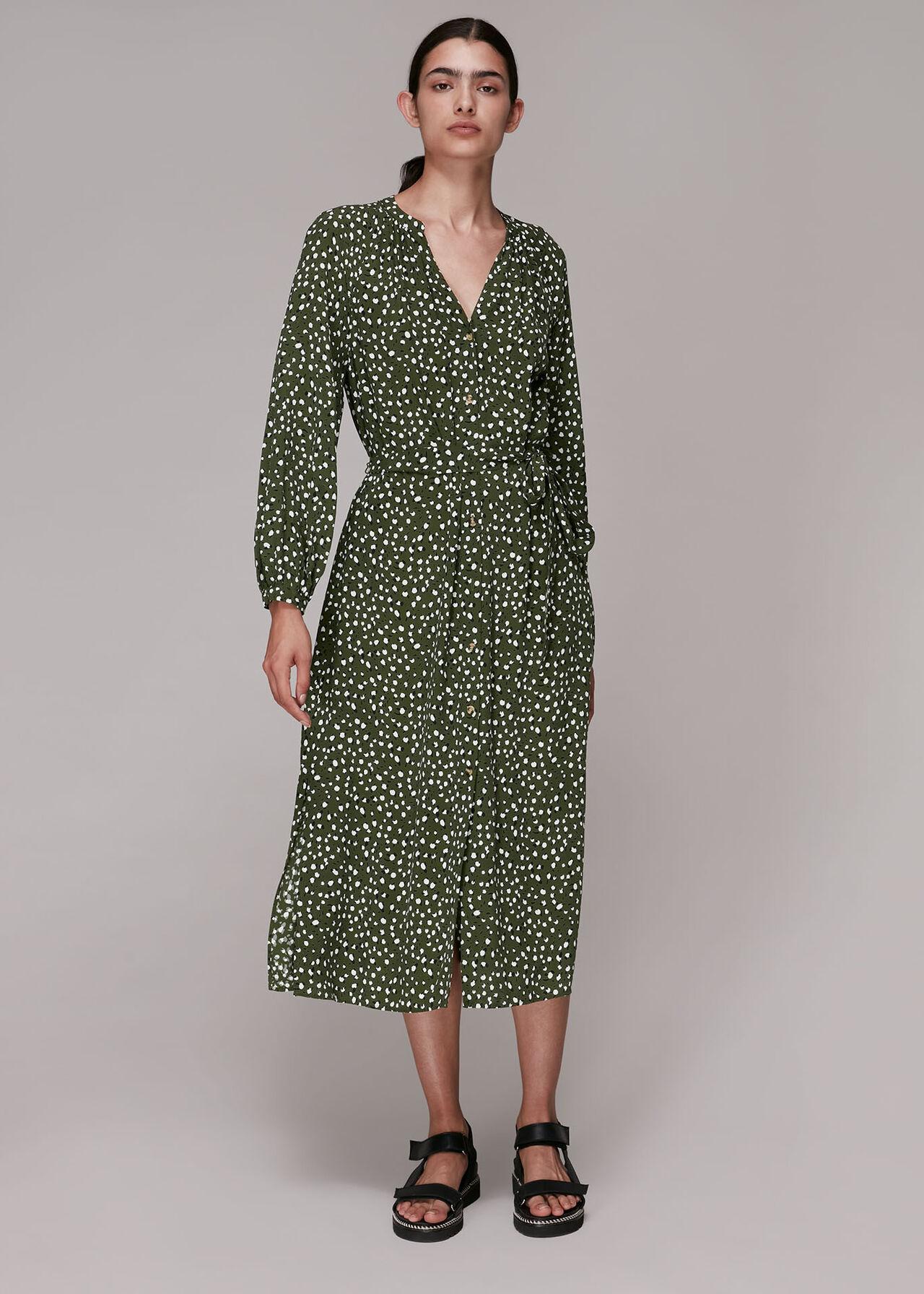 Livi Wild Leopard Midi Dress