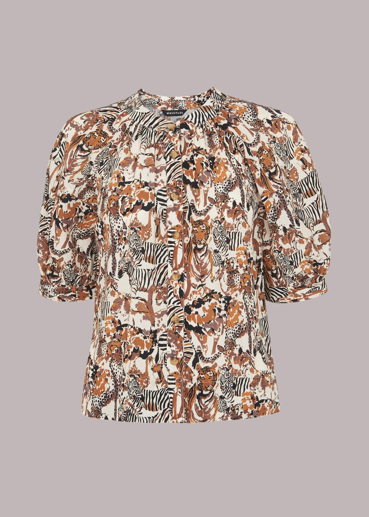 Camo Safari Casual Shirt