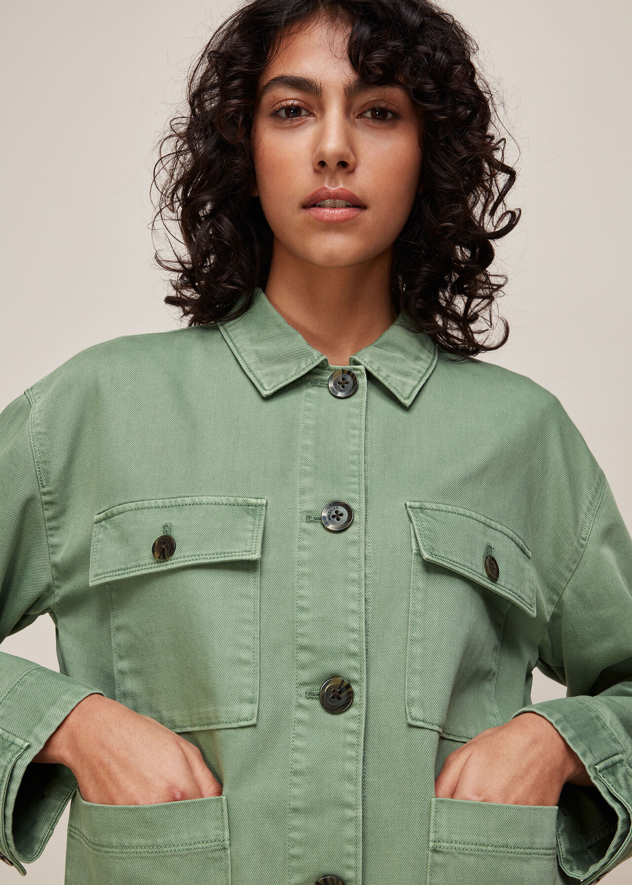 Ultimate Utility Jacket Pale Green