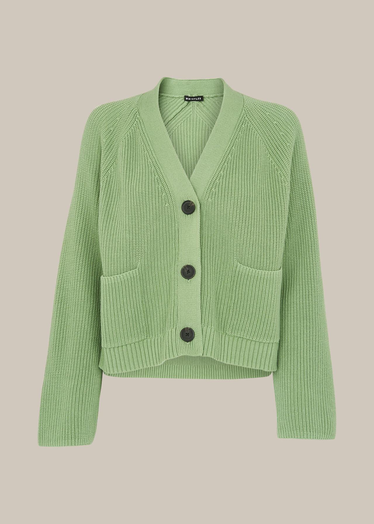 Nora Button Pocket Cardigan