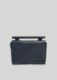 Mina Resin Bar Bag Navy