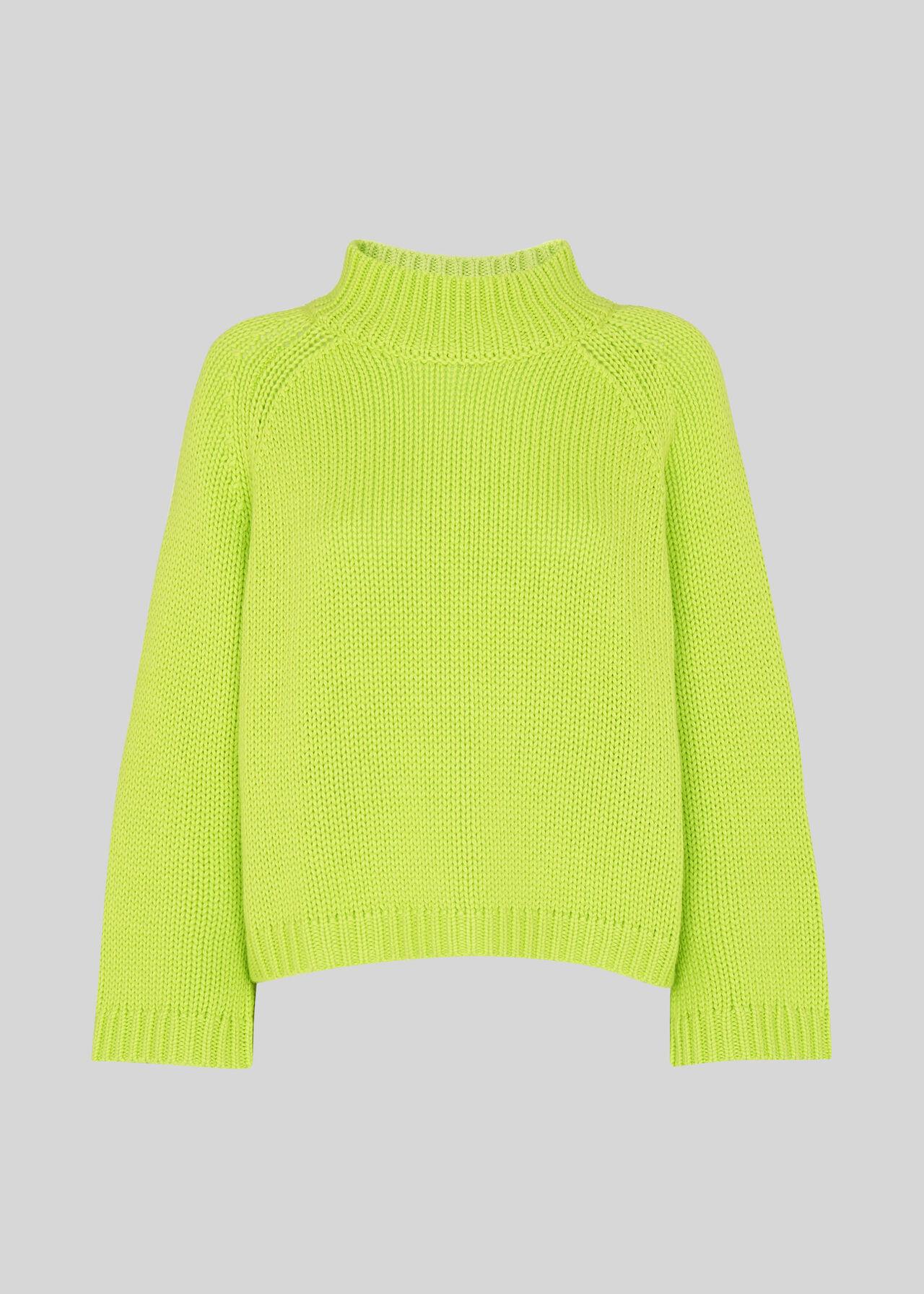 Chunky Alpaca Mix Knit Yellow