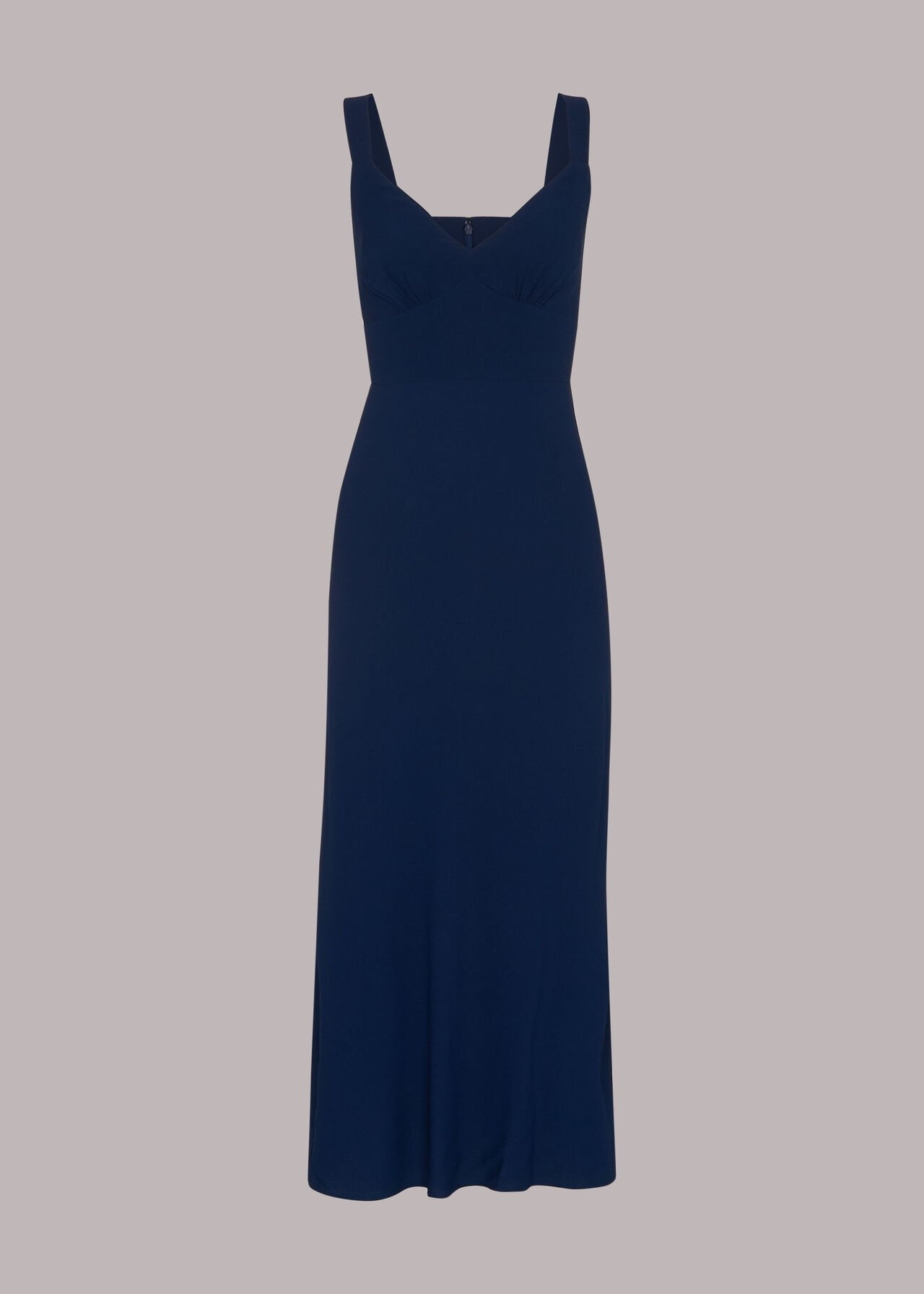 Rachael Sleeveless Dress Navy
