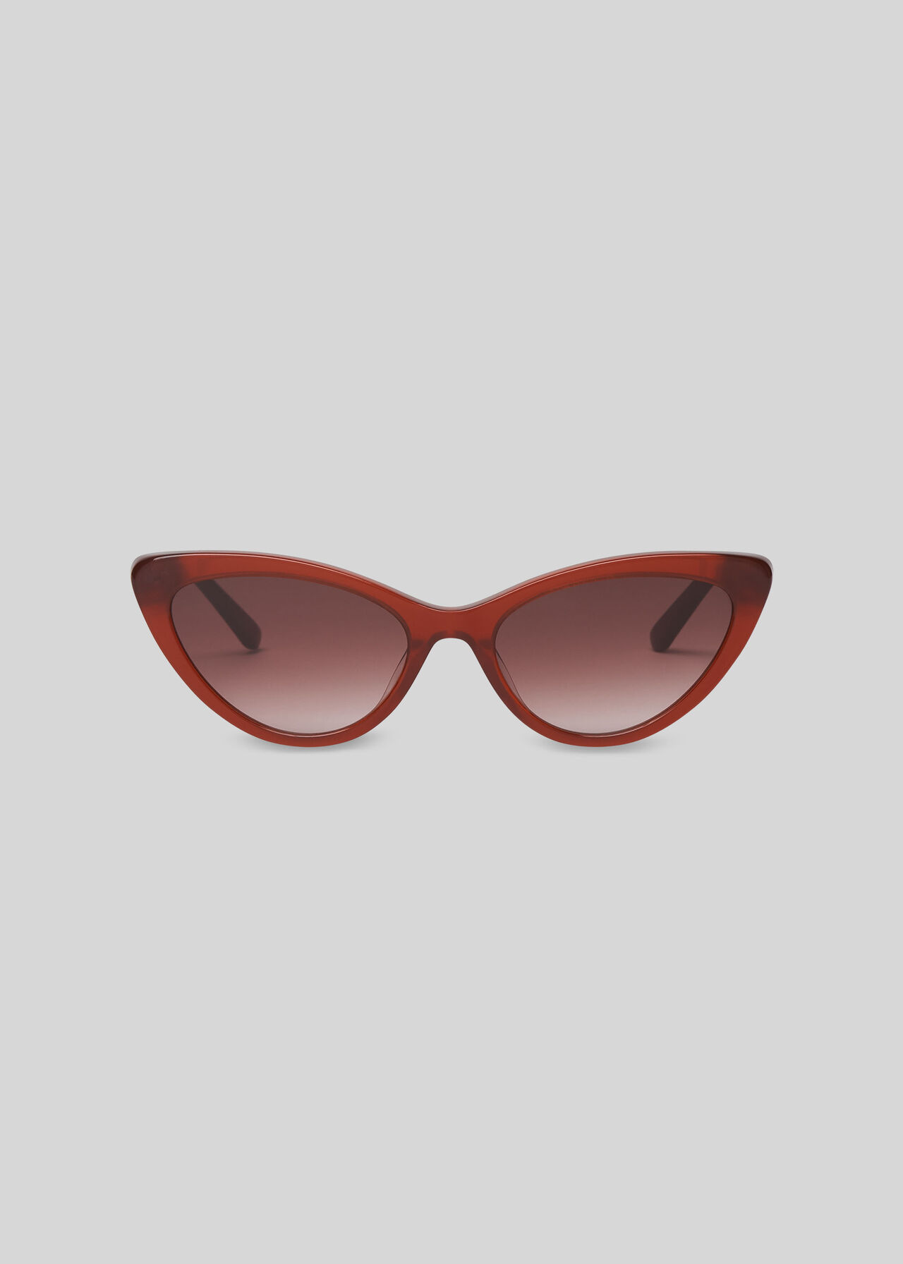 Hart Cat Eye Sunglasses Rust