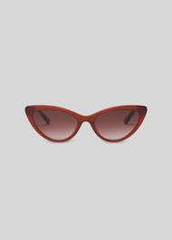 Hart Cat Eye Sunglasses Rust