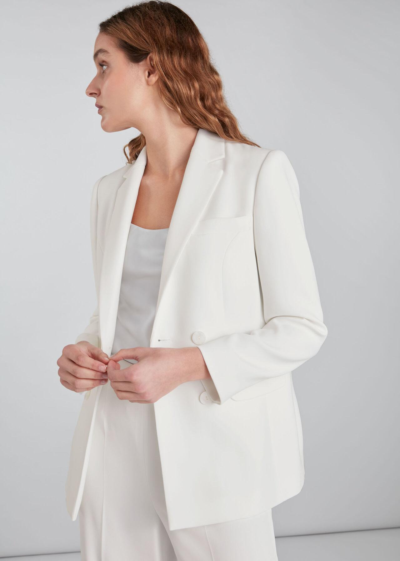 Annie Wedding Blazer Ivory/Multi