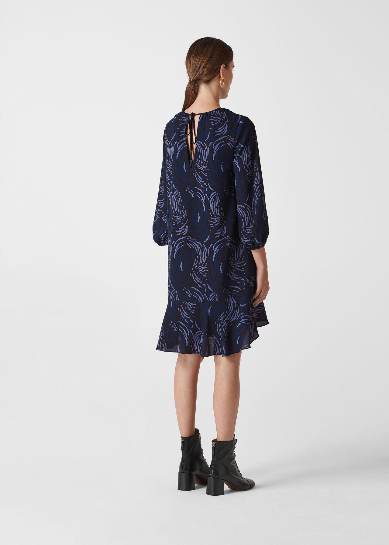 Renata Reed Print Dress