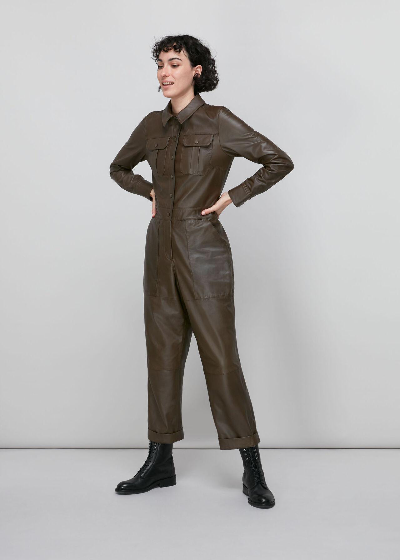 Leather Boilersuit