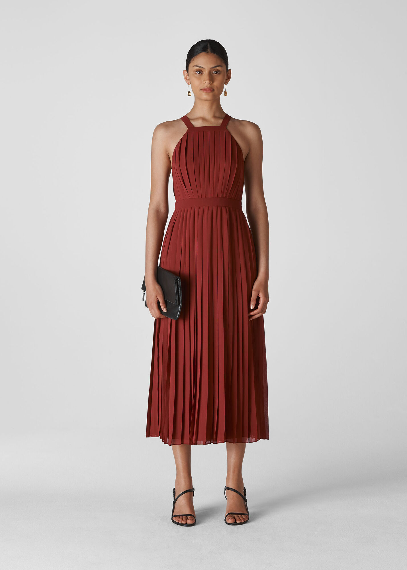 Kyra Pleated Dress