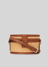 Simone Tiny Box Bag Neutral