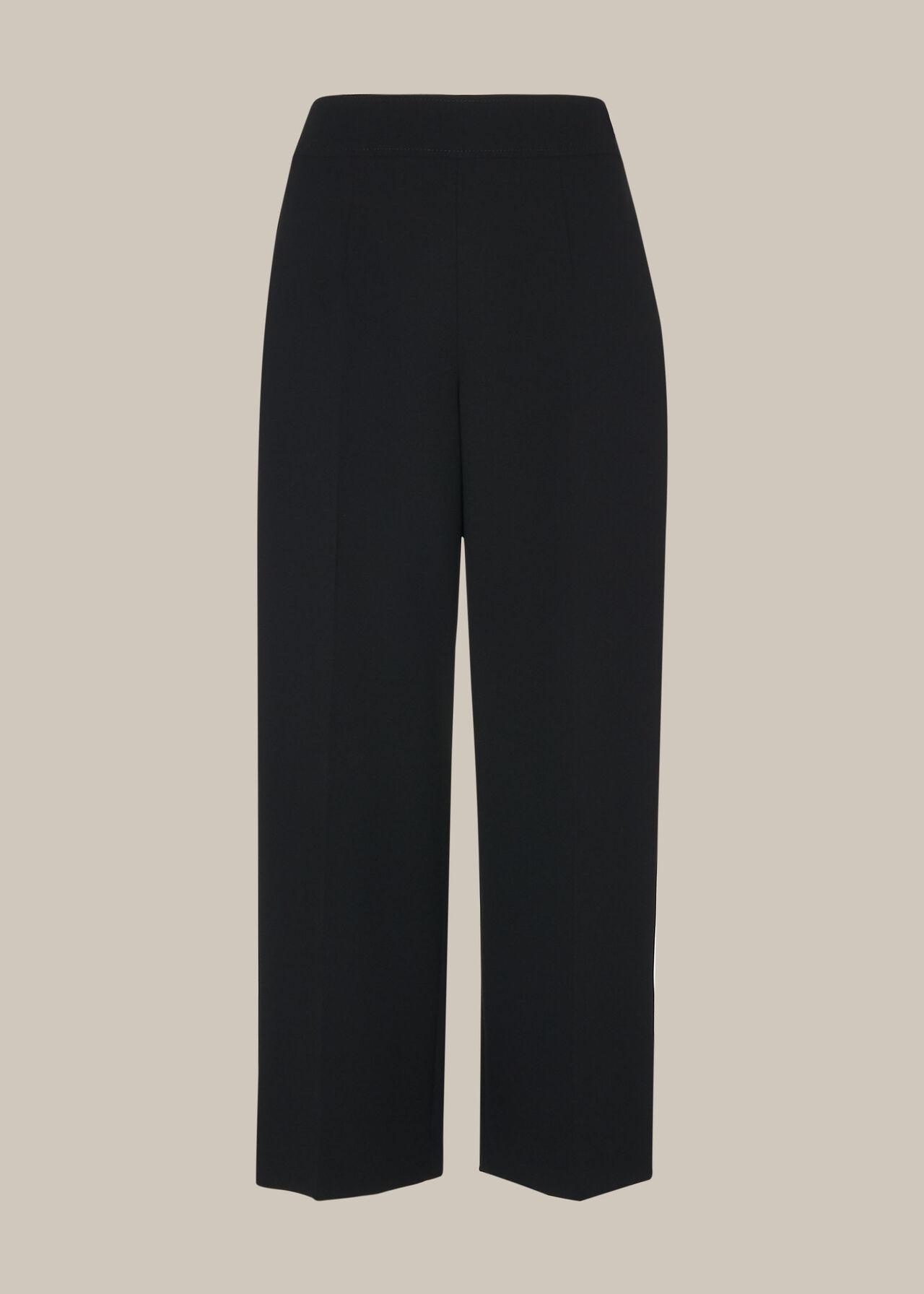 Wide Leg Crop Trouser