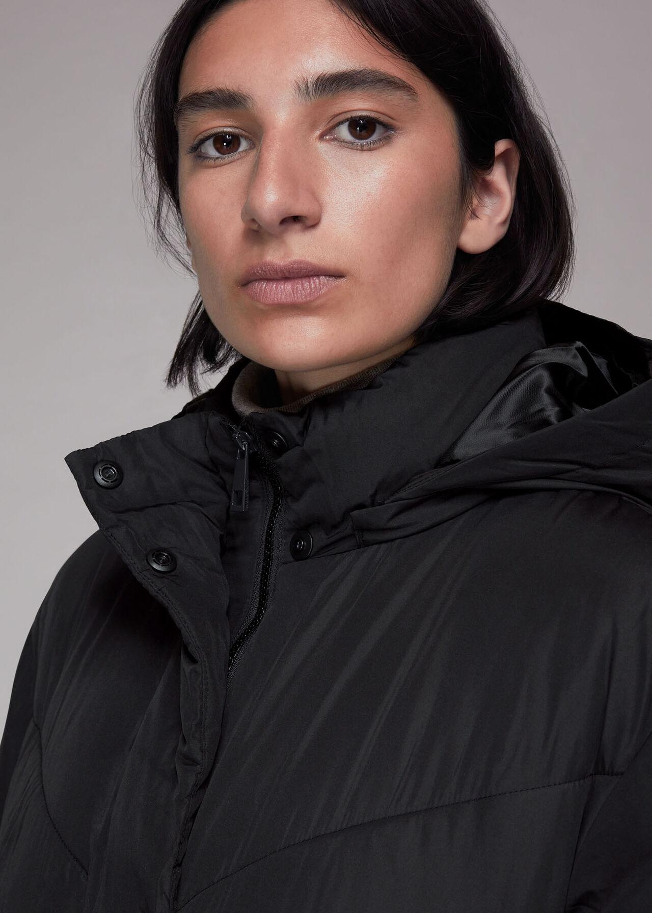 Tessa Hooded Longline Puffer
