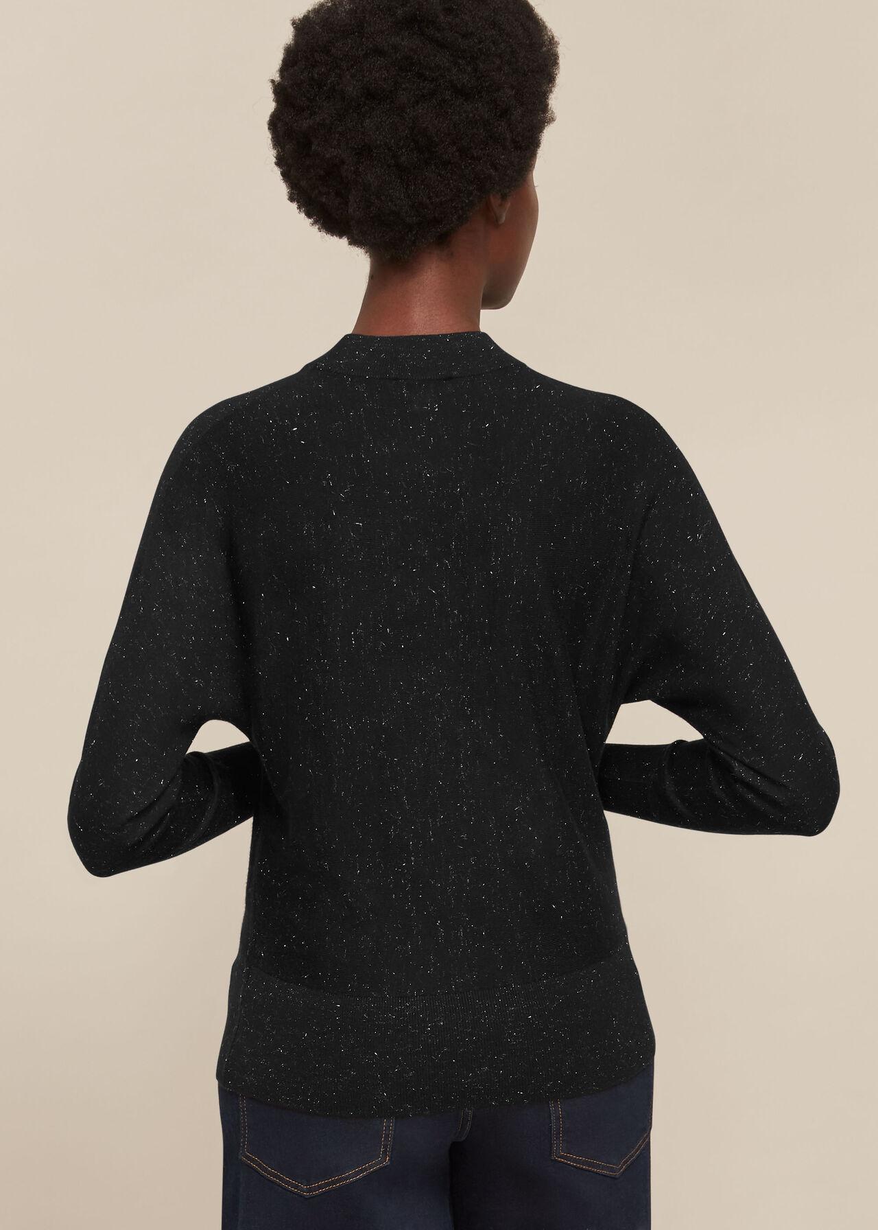 Annie Sparkle Dolman Knit