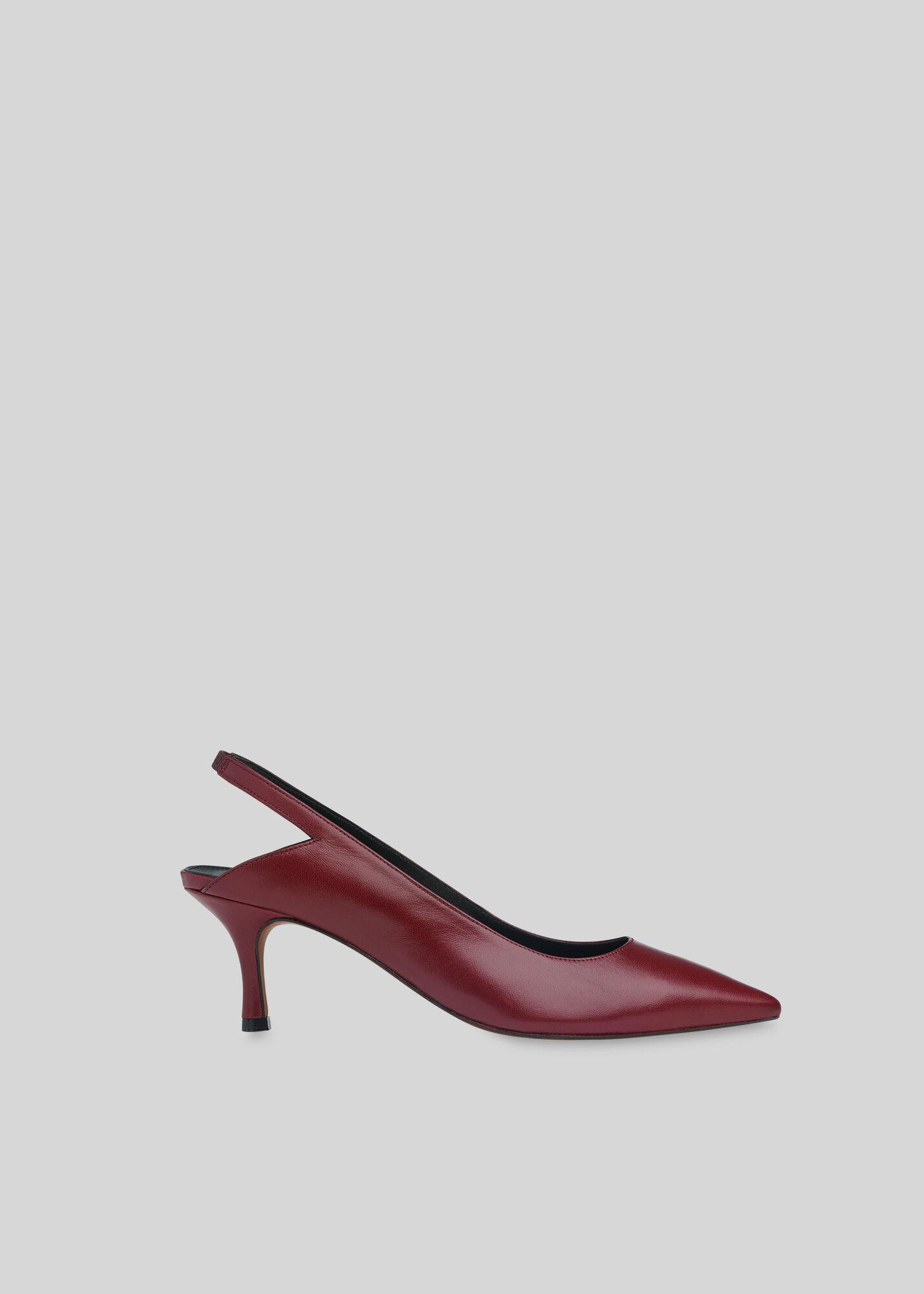 Clare Cutout Slingback Shoe