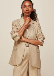 Tailored Neutral Jacket