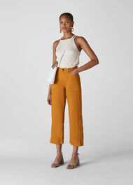 Cargo Pocket Trouser Mustard