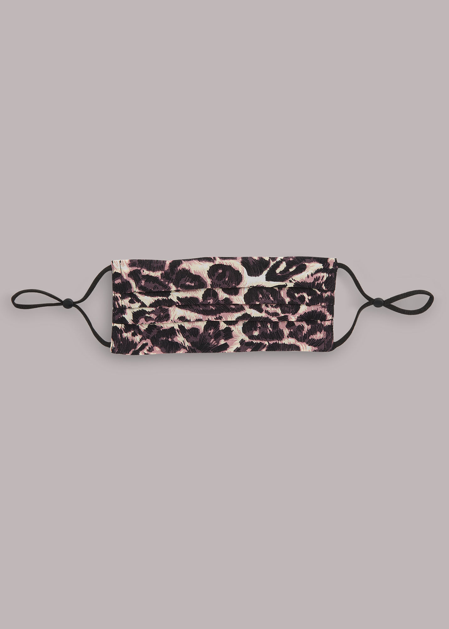 Whistles Women Clouded Leopard Face Covering
