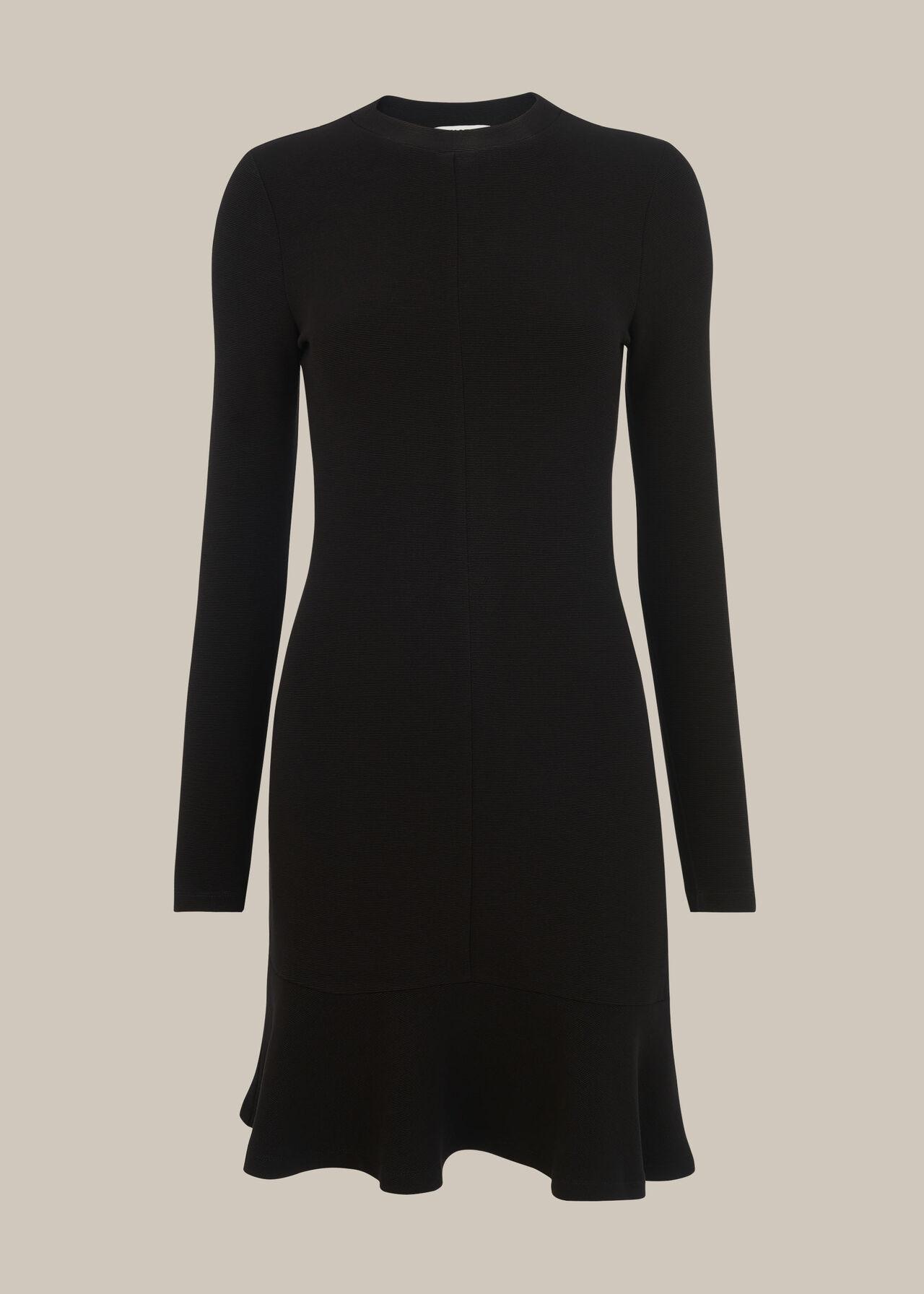 Ottoman Jersey Flippy Dress