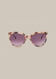 Maya Cat Eye Sunglasses Brown/Multi