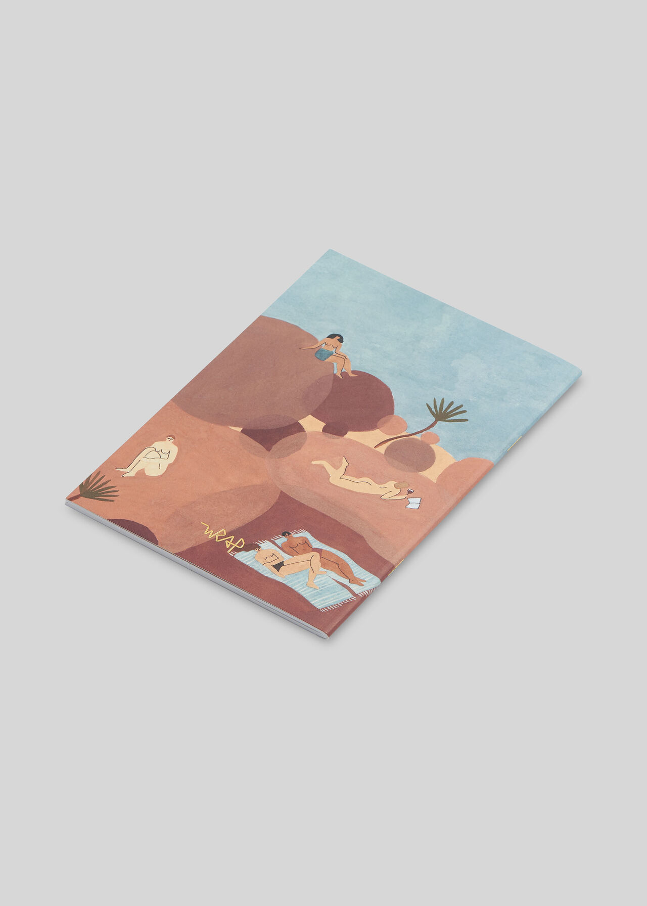 Wrap Hikers Notebook Multicolour