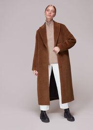 Emma Alpaca Mix Luxe Coat