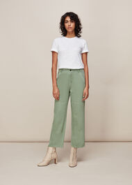 Ultimate Cargo Trouser Pale Green