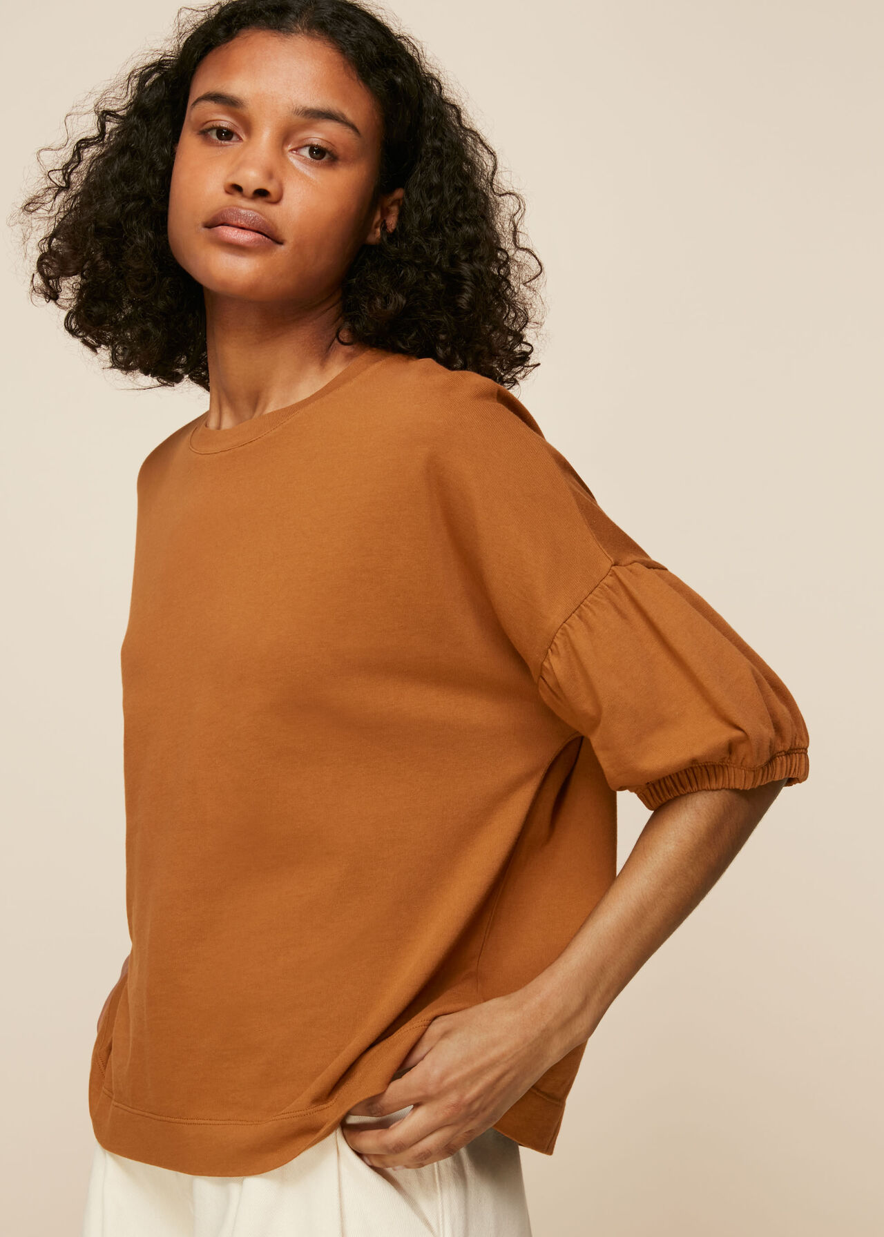 Oversized Sleeve Tee