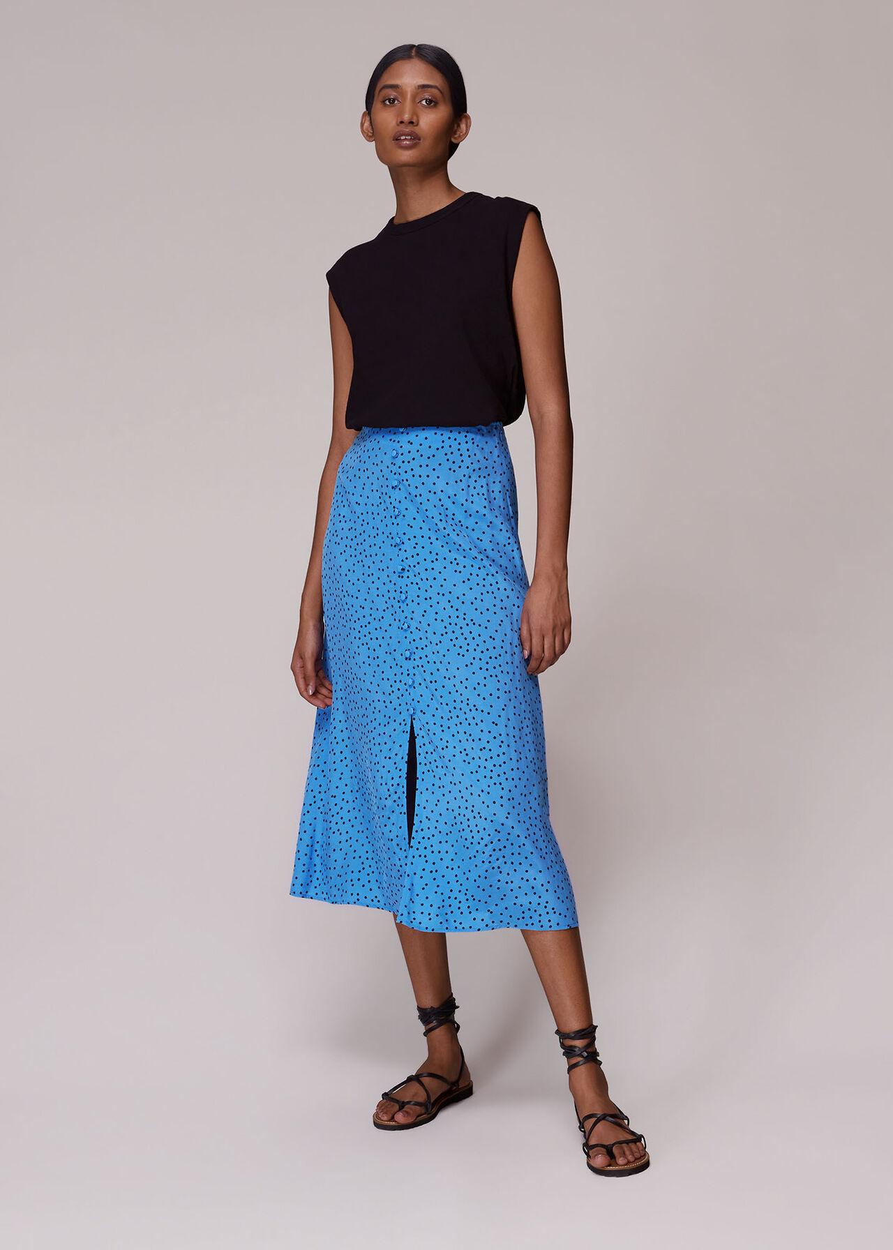 Irregular Spot Skirt