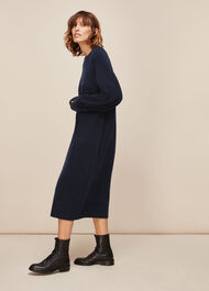 Midi Length Knit Dress