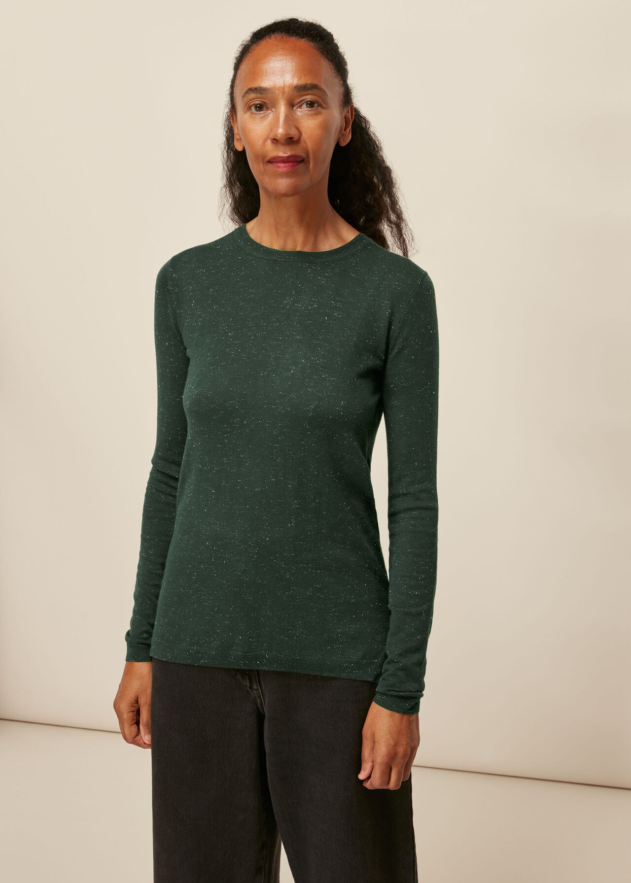 Annie Sparkle Knit