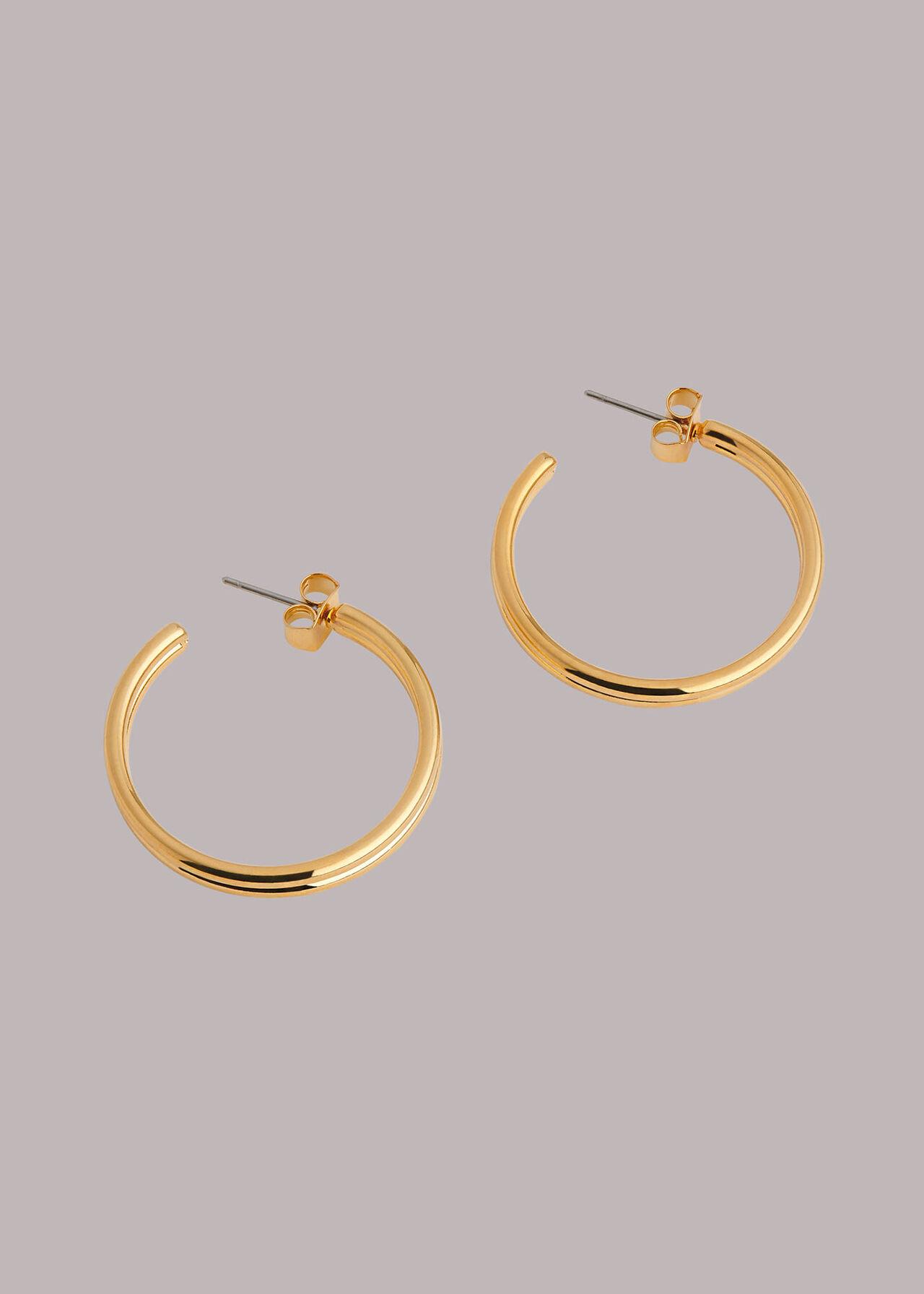 Large Double Hoop Earring