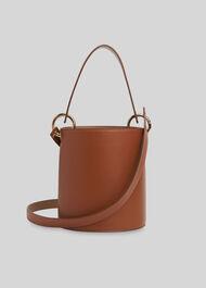 Matilda Bucket Bag Brown
