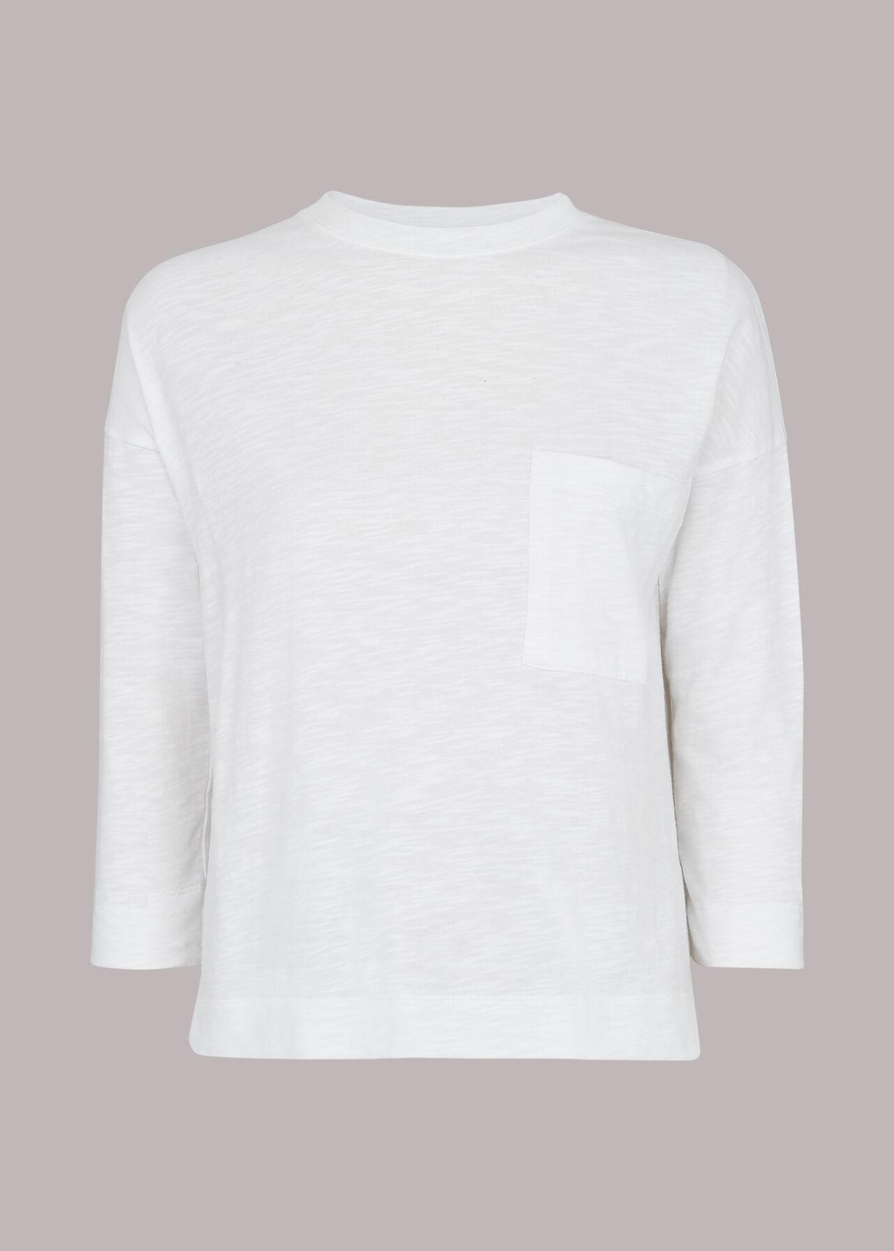 Cotton Pocket Top White