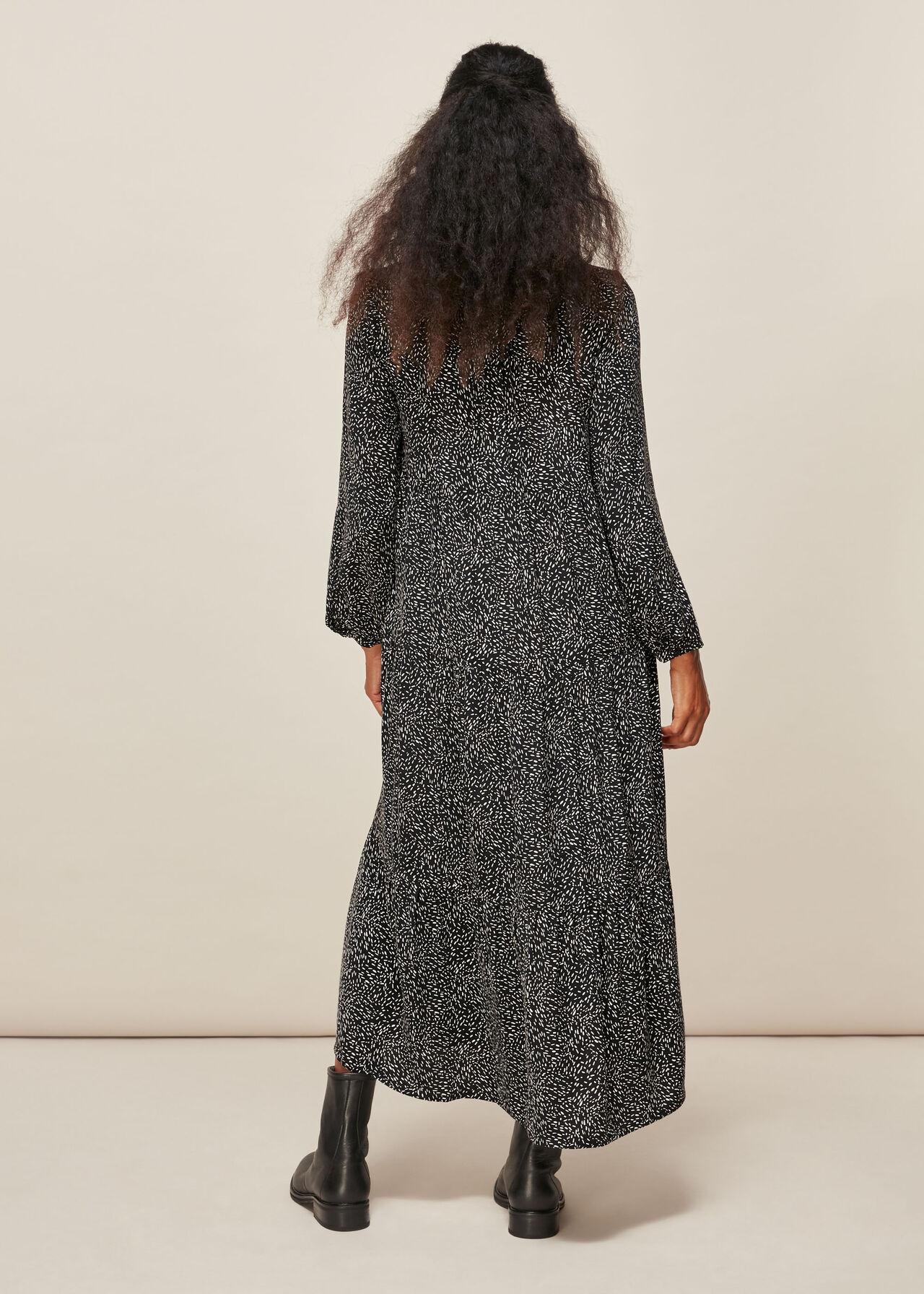Freckle Print Enora Dress