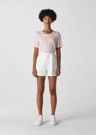 Linen Short White